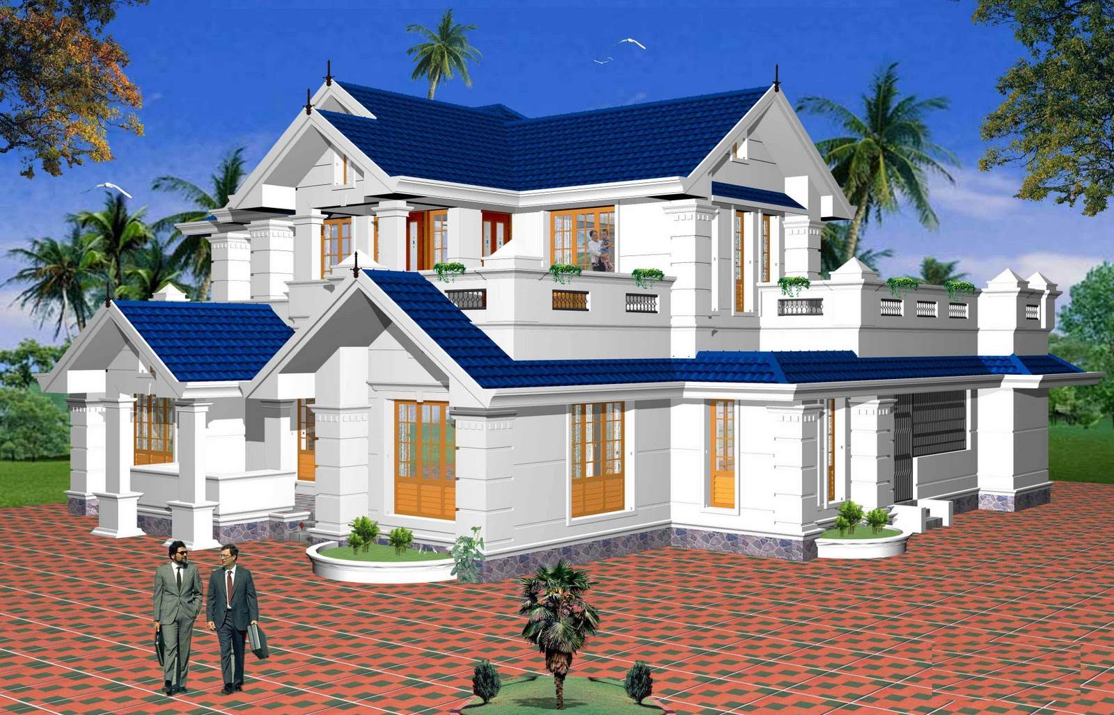 Types house plans architectural design apnaghar for Different home designs
