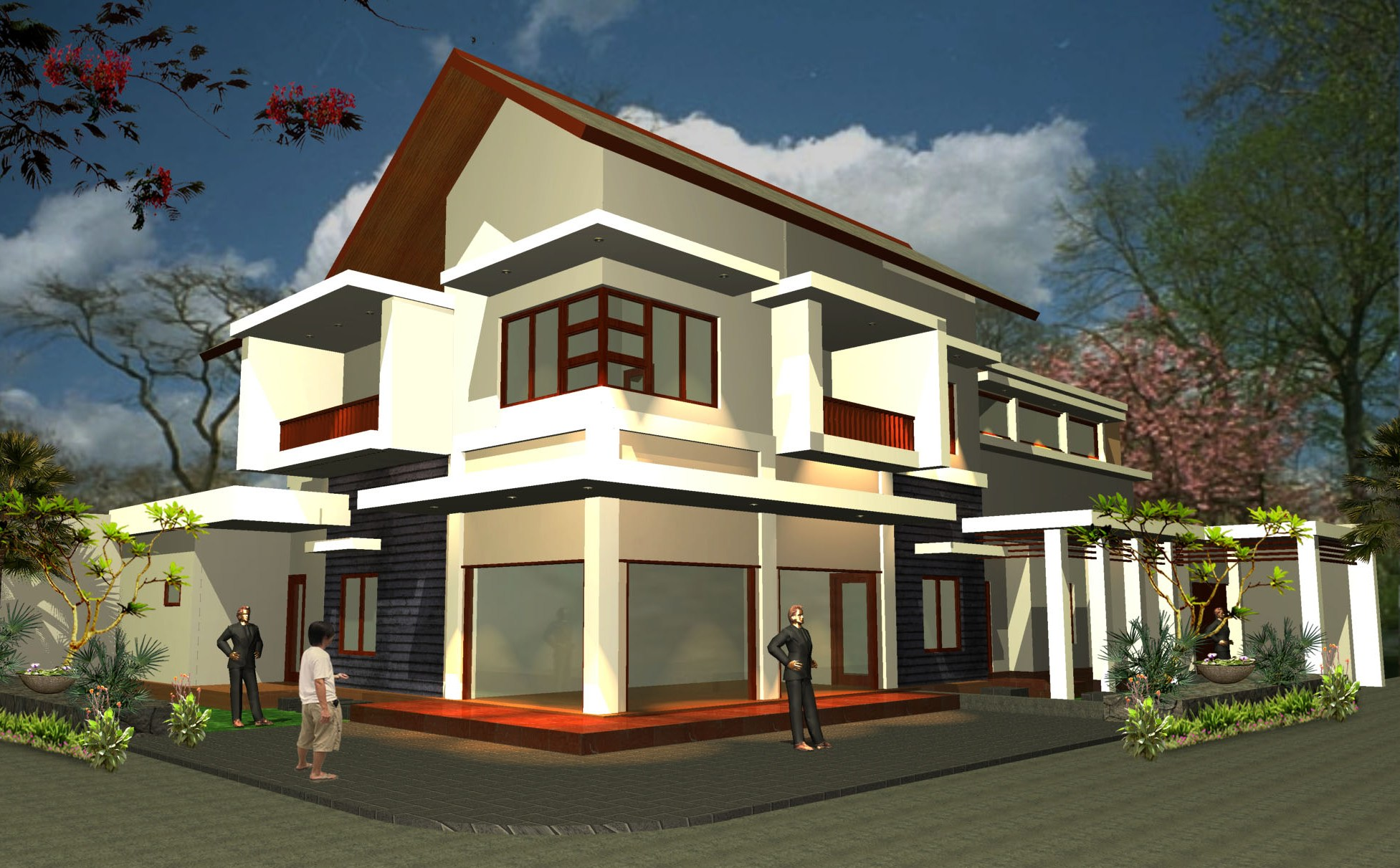 Download this Riad House Plans... picture