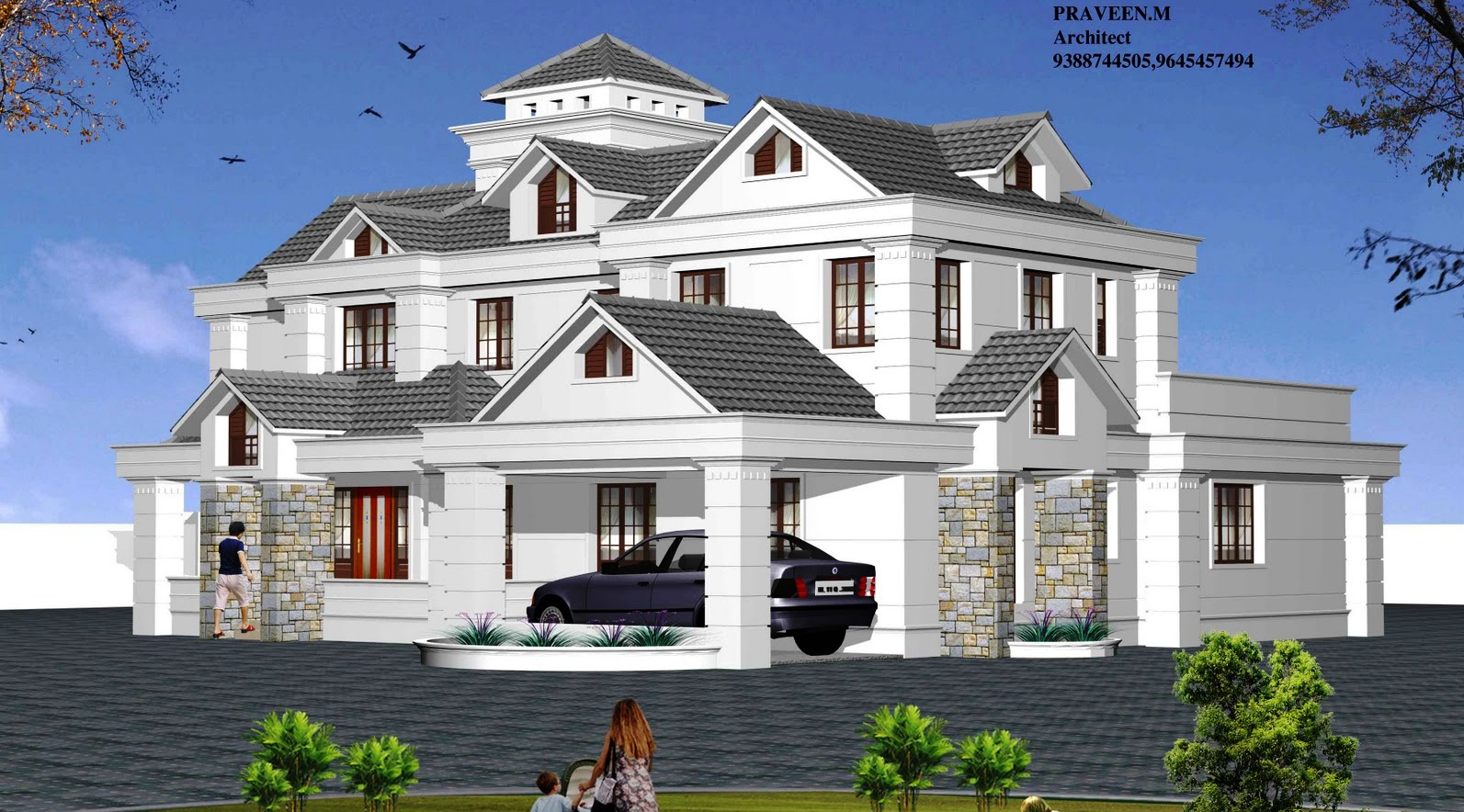 Types House Plans Architectural Design 171 Apnaghar