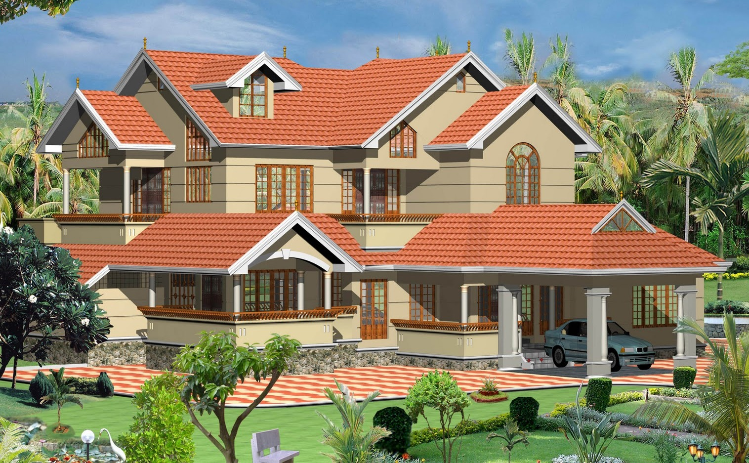 Types house plans architectural design apnaghar for Simple house plans in india