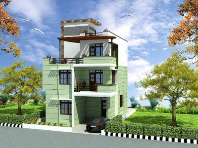 Triplex House Design ApnaGhar Page 6