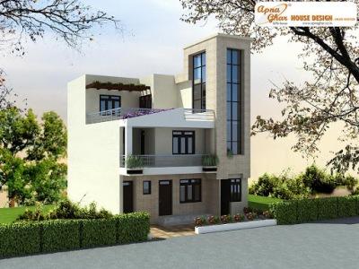 Triplex House Design ApnaGhar Page 4