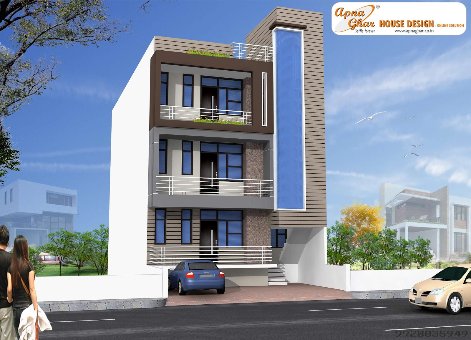 View Plan : http://apnaghar.co.in/house-design-307.aspx