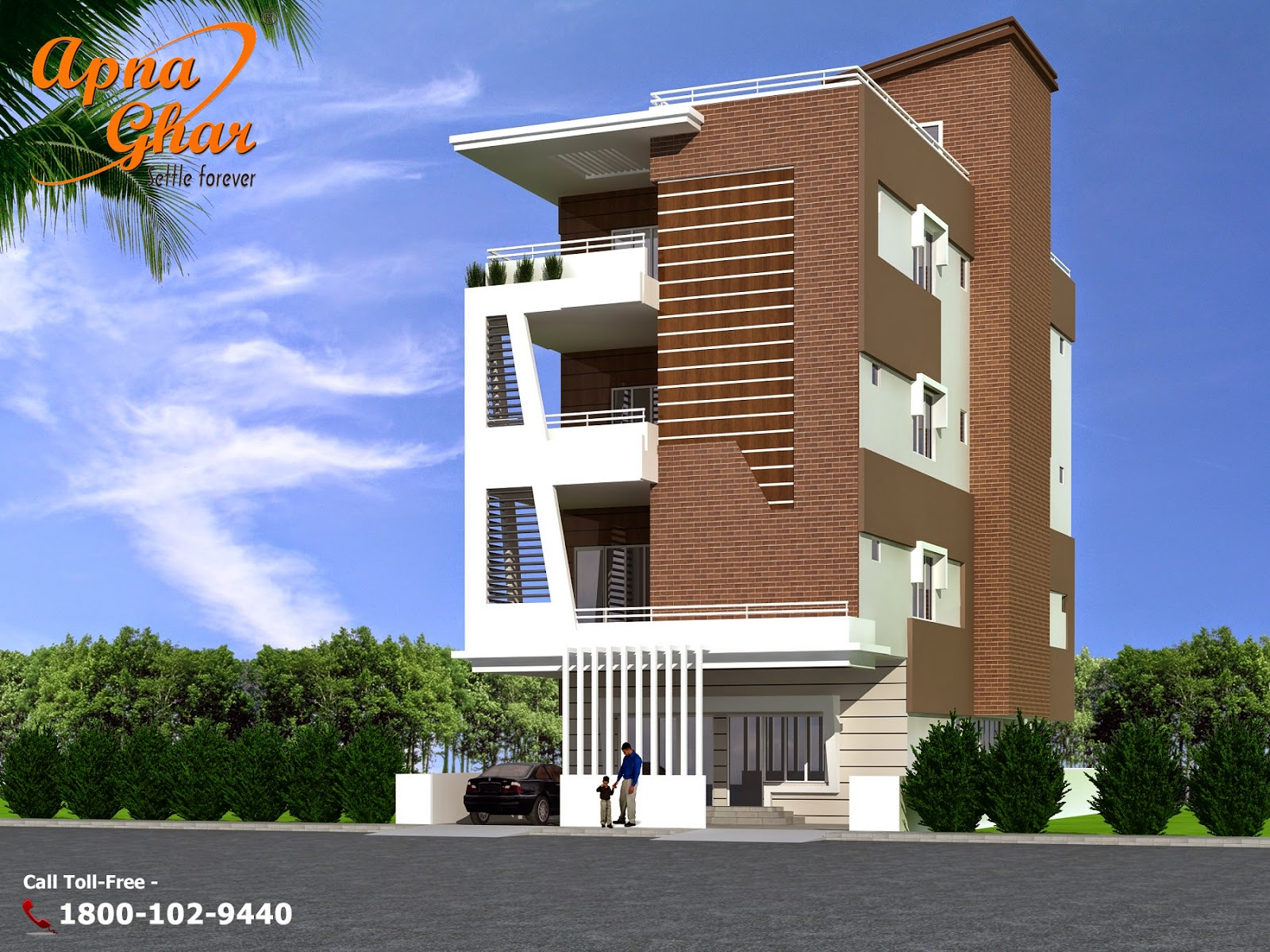 1st floor front elevation